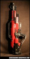 Mass Effect 3 Revenant Themed Nerf by JohnsonArms