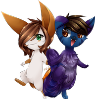 Chibi Commission for Freeze-pop88 by Hideaki-FV2
