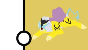 Raikou Minimalist Wallpaper by Narflarg