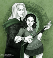 Lucius Malfoy's New Muse by Javadoodle