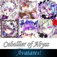 Caballier of the abyss avatars by Tsuki-angeldark