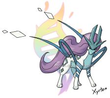 Day 80 - Mega Suicune by Xyrten