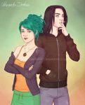 Commission - Nea and James by ribkaDory