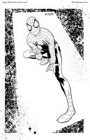 Spidey - Inks by kh27s