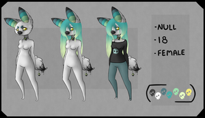 Anthro Null Reference Sheet by TheseWeirdFishes