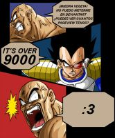 It's OVER 9000 by LinkMasterXP