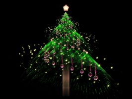 Fractal Chirstmas Tree by fengda2870
