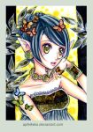 yellow - ACEO Nr. 261 by Apfelkeks