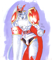 Gallantmon by DeadlyObsession