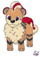 little Growlithe by LiviaRedo
