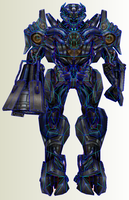 TF AOE Galvatron by PapercraftKing