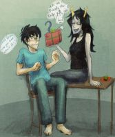 john this present is o8viously the 8est there is!! by affectionateTea