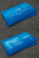 Futuristic Business Card by Raincutter