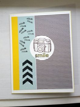 greeting card - click click smile by inconsistentsea