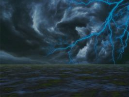 Stock Storm Brewing by mysticmorning