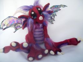 Black Cherry Dragon- by Tanglewood-Thicket