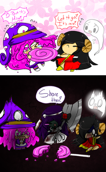 Skullgirls OCs: Share your candies by Milizapiainc