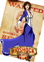 Elizabeth - Bioshock Infinite by Holicdraw34