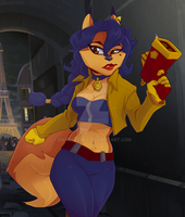 Carmelita Montoya Fox by Aukki13
