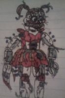 Nightmare Circus Baby v3 by FreddleFrooby