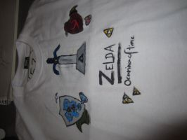 T-shirt - the Legend of Zelda, Ocarina of time by DinaSirene