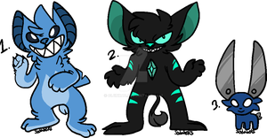 [1 LEFT] Weird adopts by sodabeks