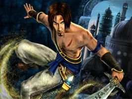 The Prince of Persia by ajishrocks