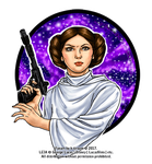Be with the Force, Princess by k-tiraam