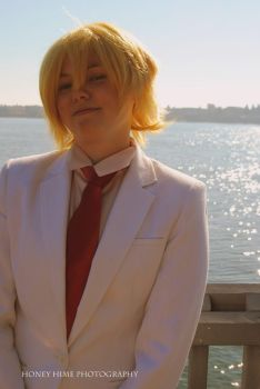Cosplay: Tamaki Suoh by cosmicprettyboy