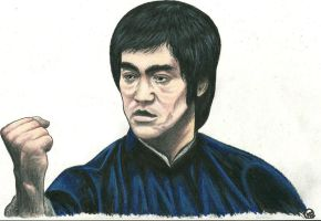 BRUCE LEE by KYLE-CHANEY
