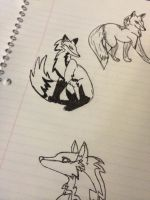 Some Foxes by tigger364
