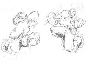 Kid.Gloves-VS-Knux:RE-ENTRY by theCHAMBA