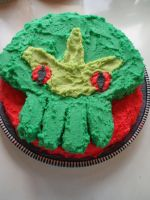Cthulhu Birthday Cake 3 by blackafter
