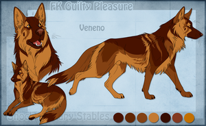 STS Dog - Veneno by ShockTherapyStables
