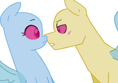 MLP Base - If you don't stop being so cute... by Tech-Kitten