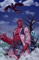 HellBoy by Godsartist