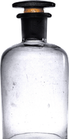 Empty Bottle PNG by ViolettaLeStrange
