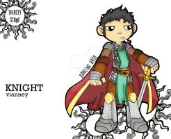 vianney the knight by thirsty-stone