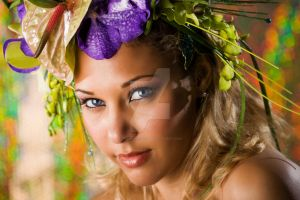 Beauty and flower - Retouch by TheOryGabyyh