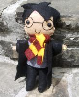 Harry Potter Plushie by kiddomerriweather