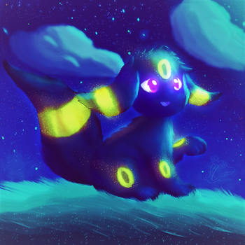 Glowing in the night reworked by Steve-the-Lucario