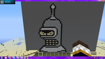 Minecraft Pixel Art: Bender by ScytheSkull