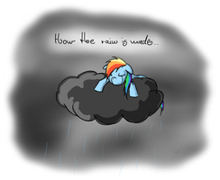 How the rain is made.. by Kiyoshiii
