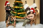 Merry Christmas from the Dixon Brothers by Ya-u