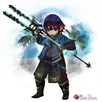FFXIV Commission : Lalafell by Milee-Design