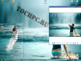 theme ' Girls' for XP by tochpcru