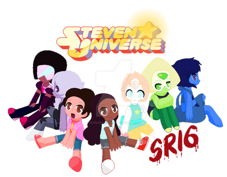 Steven Universe chibis by SuperRosey16
