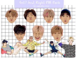 Render - PNG pack #4 - Got7 Just Right by LaaLaHoe