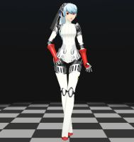 Persona 4 - Labrys MMD download by Reon046