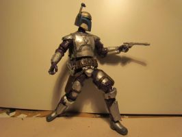 super articulated jango fett 1 by SpudaFett